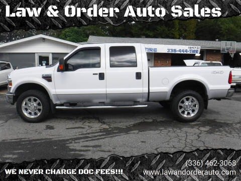 2008 Ford F-350 Super Duty for sale at Law & Order Auto Sales in Pilot Mountain NC