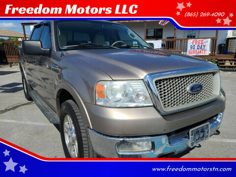 2004 Ford F-150 for sale at Freedom Motors LLC in Knoxville TN