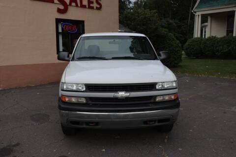 2001 Chevrolet Silverado 1500 for sale at FENTON AUTO SALES in Westfield MA