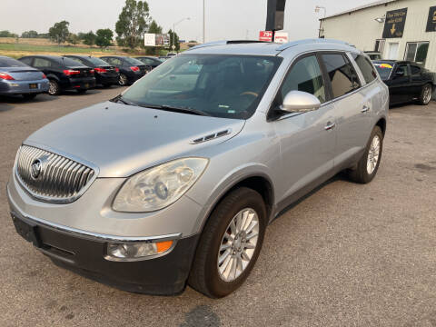 2010 Buick Enclave for sale at BELOW BOOK AUTO SALES in Idaho Falls ID