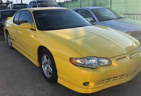 2003 Chevrolet Monte Carlo for sale at GEM Motorcars in Henderson NV