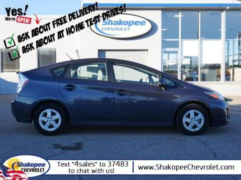 2011 Toyota Prius for sale at SHAKOPEE CHEVROLET in Shakopee MN