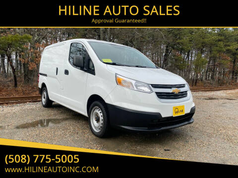 2015 Chevrolet City Express Cargo for sale at HILINE AUTO SALES in Hyannis MA