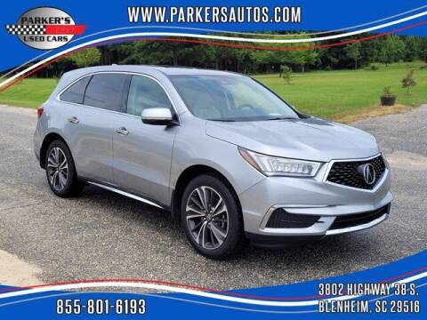 2020 Acura MDX for sale at Parker's Used Cars in Blenheim SC