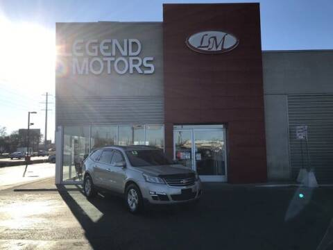2013 Chevrolet Traverse for sale at Legend Motors of Waterford - Legend Motors of Ferndale in Ferndale MI