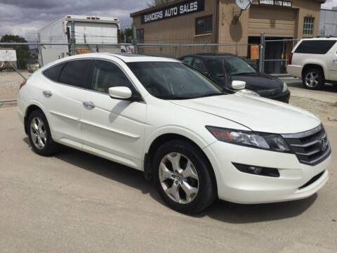 2012 Honda Crosstour for sale at Sanders Auto Sales in Lincoln NE