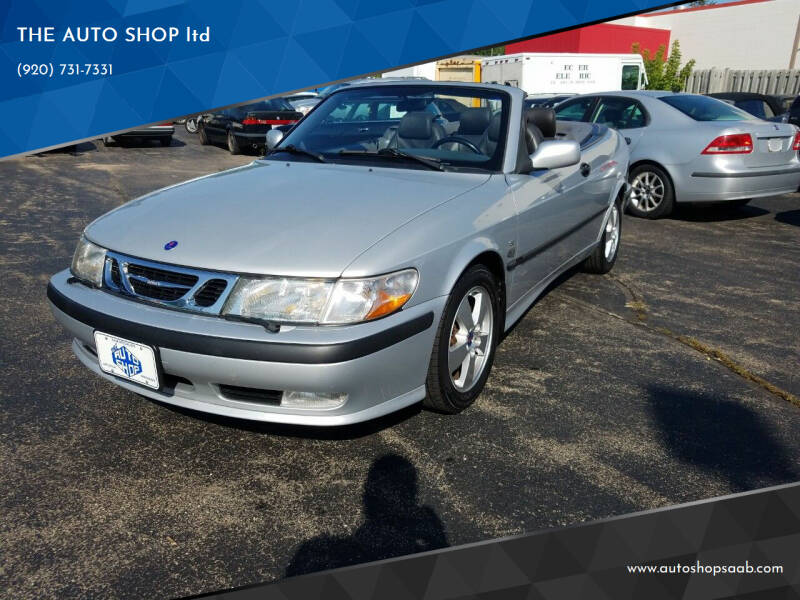2003 Saab 9-3 for sale at THE AUTO SHOP ltd in Appleton WI