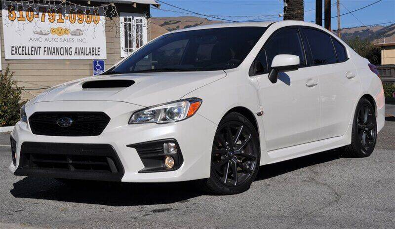 2018 Subaru WRX for sale at AMC Auto Sales, Inc. in Fremont CA