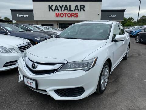 2016 Acura ILX for sale at KAYALAR MOTORS in Houston TX