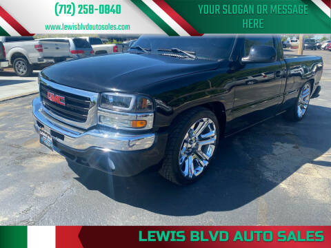 2004 GMC Sierra 1500 for sale at Lewis Blvd Auto Sales in Sioux City IA