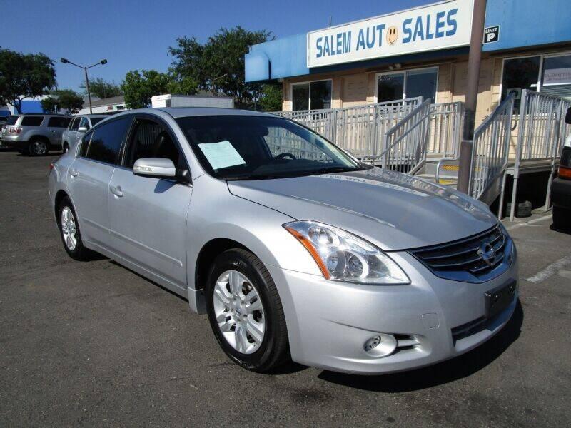 2012 Nissan Altima for sale at Salem Auto Sales in Sacramento CA