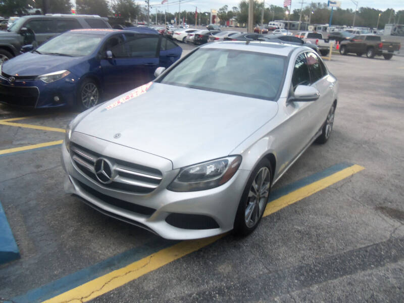 2018 Mercedes-Benz C-Class for sale at ORANGE PARK AUTO in Jacksonville FL