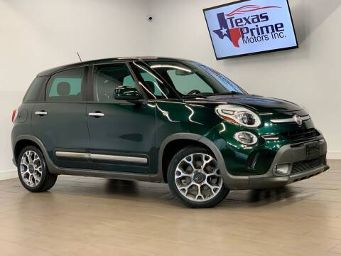 2014 FIAT 500L for sale at Texas Prime Motors in Houston TX