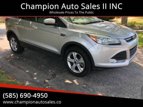 2014 Ford Escape for sale at Champion Auto Sales II INC in Rochester NY