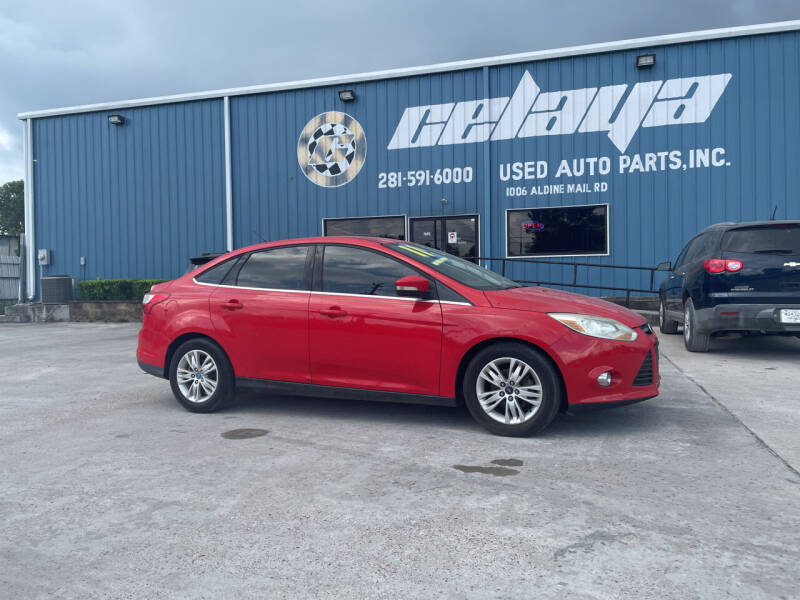2012 Ford Focus for sale at CELAYA AUTO SALES INC in Houston TX