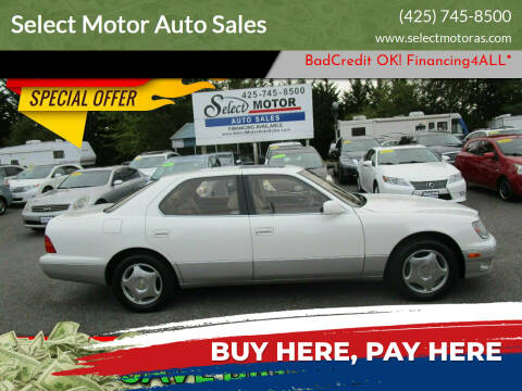 1998 Lexus LS 400 for sale at Select Motor Auto Sales in Lynnwood WA