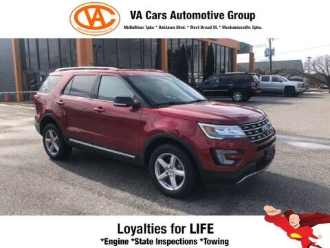 2017 Ford Explorer for sale at VA Cars Inc in Richmond VA