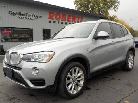2015 BMW X3 for sale at Roberti Automotive in Kingston NY