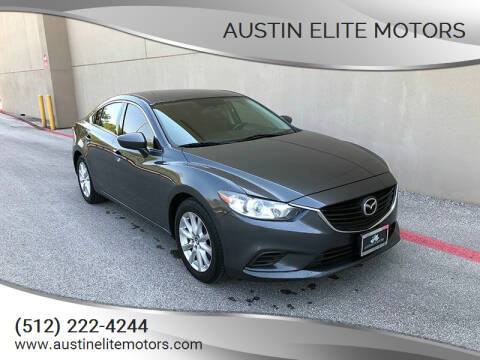 2015 Mazda MAZDA6 for sale at Austin Elite Motors in Austin TX