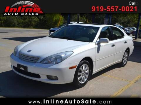 2004 Lexus ES 330 for sale at Inline Auto Sales in Fuquay Varina NC
