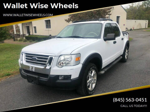 2007 Ford Explorer Sport Trac for sale at Wallet Wise Wheels in Montgomery NY