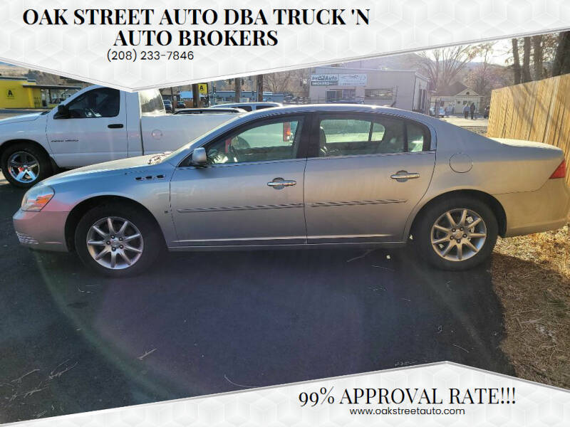 2008 Buick Lucerne for sale at Oak Street Auto DBA Truck 'N Auto Brokers in Pocatello ID