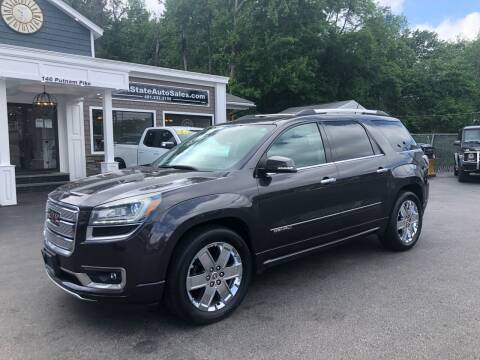 2015 GMC Acadia for sale at Ocean State Auto Sales in Johnston RI