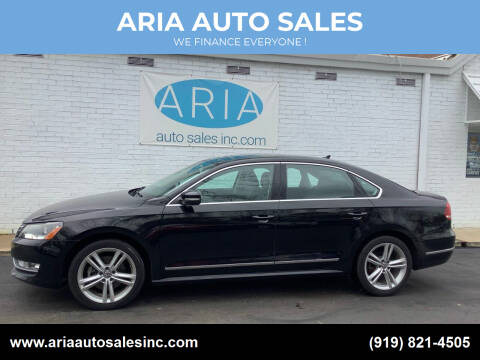 2015 Volkswagen Passat for sale at ARIA  AUTO  SALES in Raleigh NC