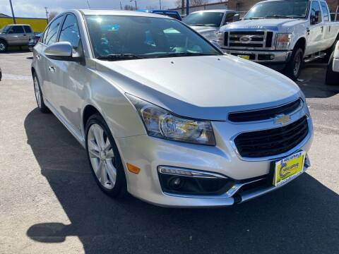 2015 Chevrolet Cruze for sale at New Wave Auto Brokers & Sales in Denver CO