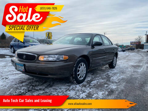 2003 Buick Century for sale at Auto Tech Car Sales and Leasing in Saint Paul MN