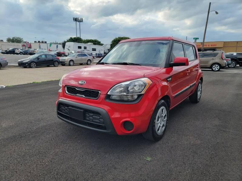 2013 Kia Soul for sale at Image Auto Sales in Dallas TX