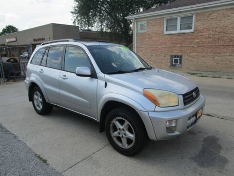 2003 Toyota RAV4 for sale at RON'S AUTO SALES INC - MAYWOOD in Maywood IL