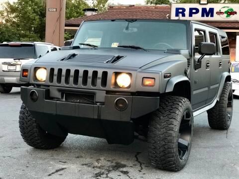 2003 HUMMER H2 for sale at RPM Motors in Nashville TN