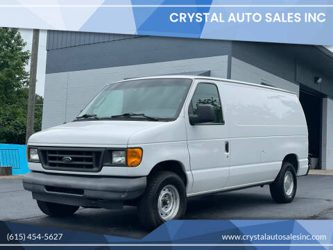 2003 Ford E-Series Cargo for sale at Crystal Auto Sales Inc in Nashville TN
