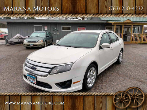 2010 Ford Fusion for sale at Marana Motors in Princeton MN