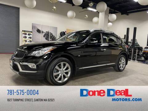 2017 Infiniti QX50 for sale at DONE DEAL MOTORS in Canton MA
