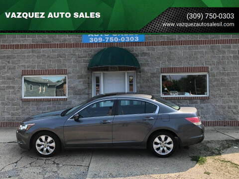 2010 Honda Accord for sale at VAZQUEZ AUTO SALES in Bloomington IL