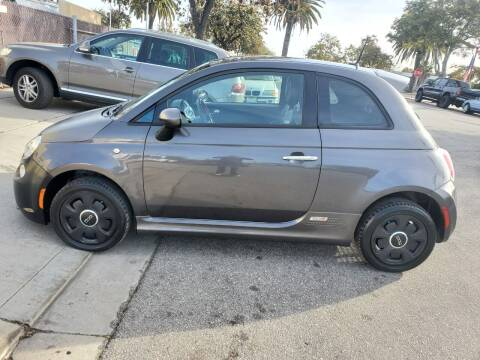 2014 FIAT 500e for sale at Convoy Motors LLC in National City CA
