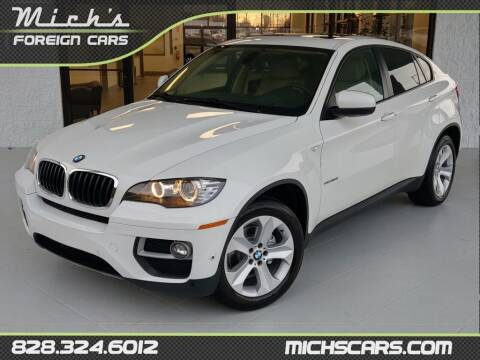 2013 BMW X6 for sale at Mich's Foreign Cars in Hickory NC