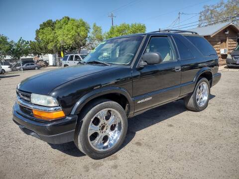 2002 Chevrolet Blazer for sale at Larry's Auto Sales Inc. in Fresno CA
