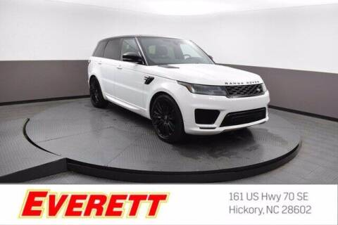 2020 Land Rover Range Rover Sport for sale at Everett Chevrolet Buick GMC in Hickory NC