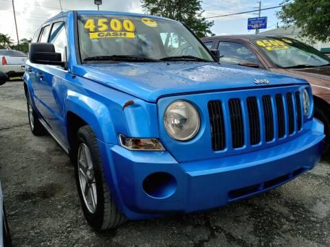 2008 Jeep Patriot for sale at AFFORDABLE AUTO SALES OF STUART in Stuart FL