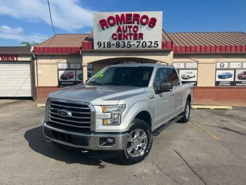 2015 Ford F-150 for sale at Romeros Auto Center in Tulsa OK