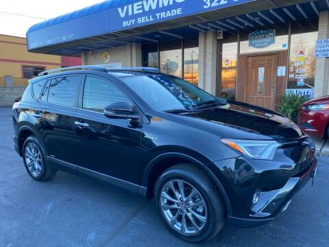 2018 Toyota RAV4 Hybrid for sale at Viewmont Auto Sales in Hickory NC