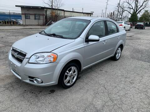 2011 Chevrolet Aveo for sale at Eddie's Auto Sales in Jeffersonville IN