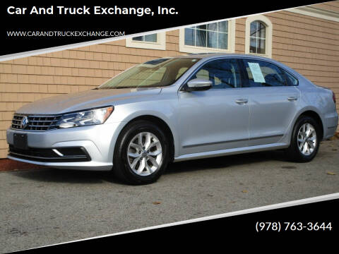2017 Volkswagen Passat for sale at Car and Truck Exchange, Inc. in Rowley MA