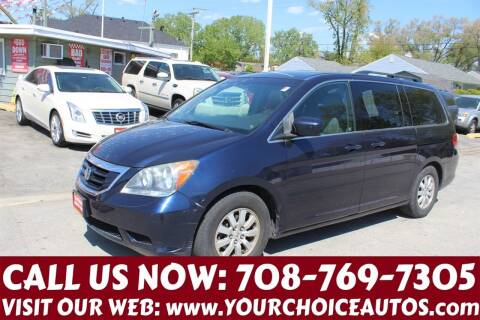 2008 Honda Odyssey for sale at Your Choice Autos in Posen IL