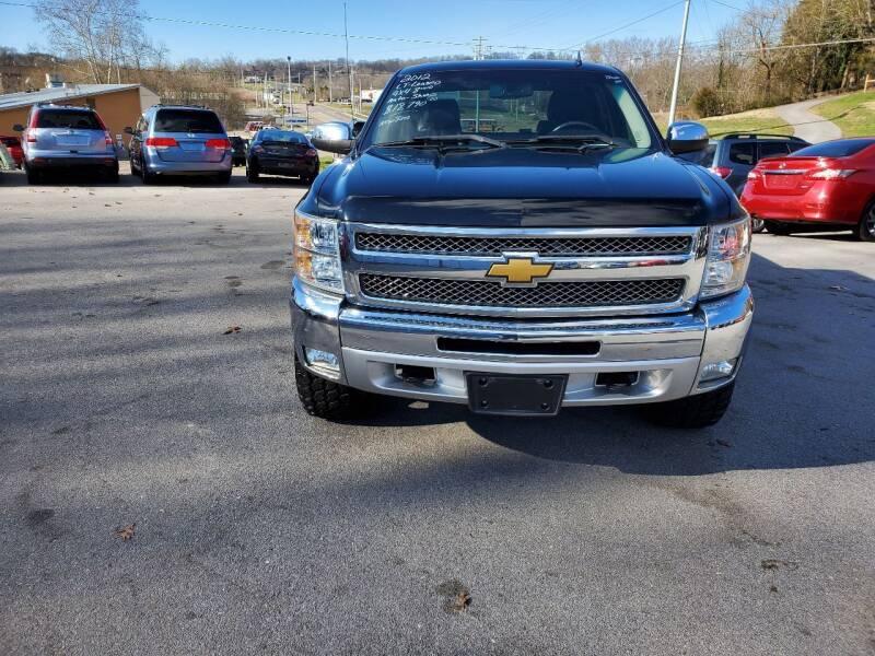 2012 Chevrolet Silverado 1500 for sale at DISCOUNT AUTO SALES in Johnson City TN