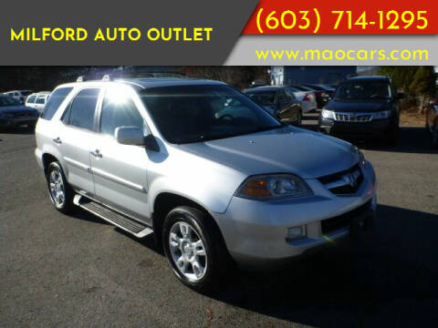 2005 Acura MDX for sale at Milford Auto Outlet in Milford NH