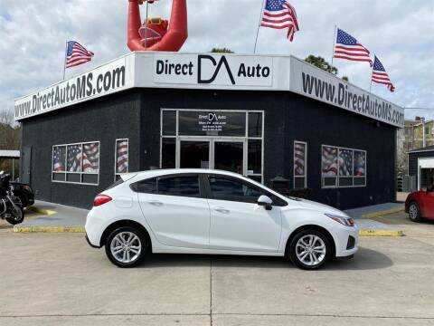 2019 Chevrolet Cruze for sale at Direct Auto in D'Iberville MS